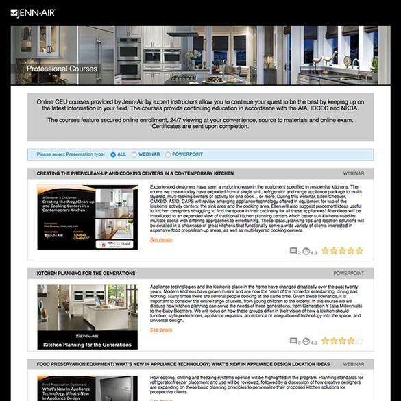 Cool Jenn Air Educational Hub Elevates Ceu Offerings Interline Download Free Architecture Designs Intelgarnamadebymaigaardcom