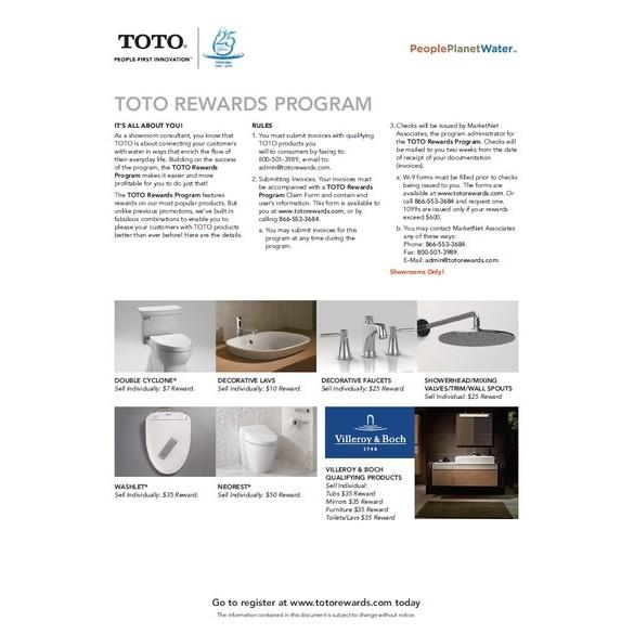 TOTO|Rewards Program Boosts TOTO\'s Market - Interline Creative Group